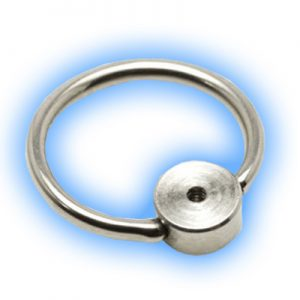 Interchangeable Titanium ball closure ring
