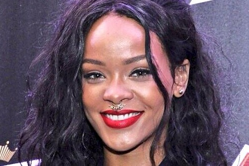 Rihanna Fake Septum Ring
