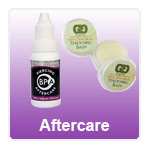body piercing aftercare products