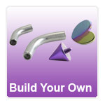Custom made body piercing jewellery - build your own