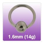 1.6mm (14g) BCR