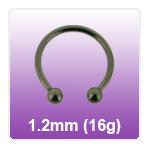 1.2mm - 16g Circular Barbells CBB