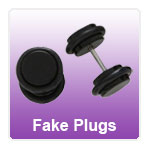 Fake Flesh Plugs