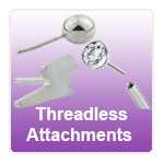 Threadless Attachments