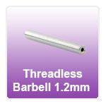 Threadless Micro Barbell