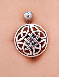 Screwbidoo Screw - Silver Celtic Symbol modelled