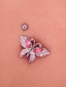 Ornate Butterfly Screwbidoo Screw modelled