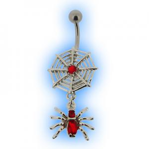 Red Spider web belly bar