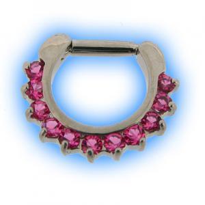 Pink Petal Septum Clicker