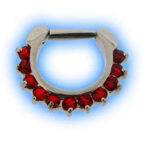 Red Petal Septum Clicker