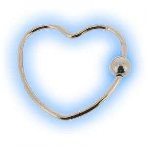 Steel Heart BCR Ring