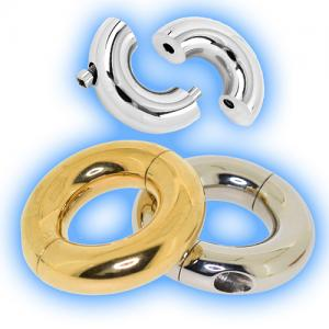 Tribal Dream Segment Rings for stretched piercings