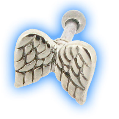 Angel Wings Ear Stud