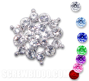 Crystal Galaxy Screwbidoo Screw