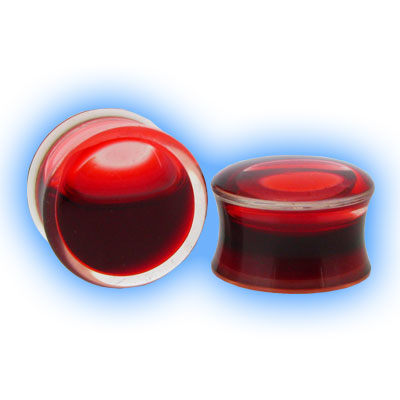 Blood Red Liquied Plugs
