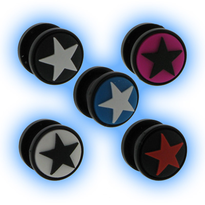 Star Plug - Acrylic Screw Plug