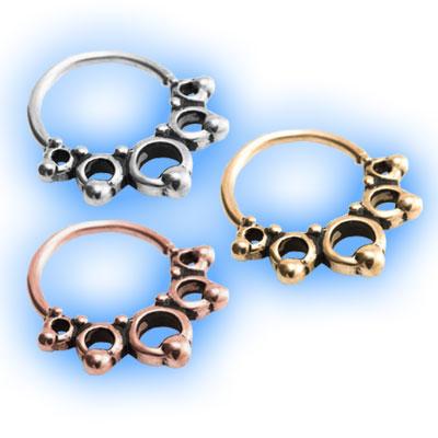 Circles Seamless Ring
