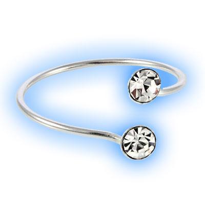 Circle Duo Toe Ring