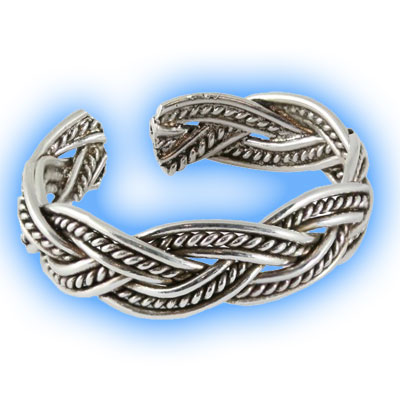 Toe Ring - Marcasite Twist