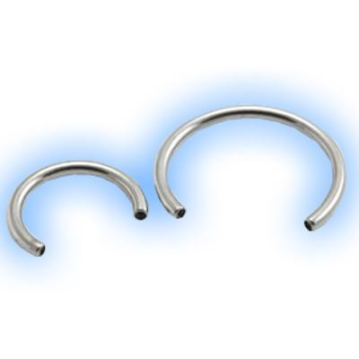 Internal Titanium Circular Barbell Shaft - 1.6mm (14 gauge)