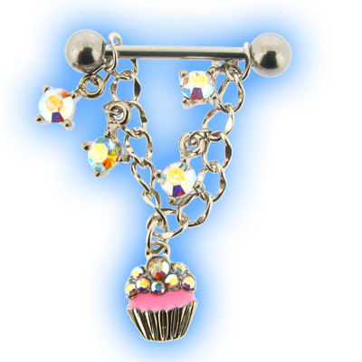 Dangling AB Cupcake Nipple Shield
