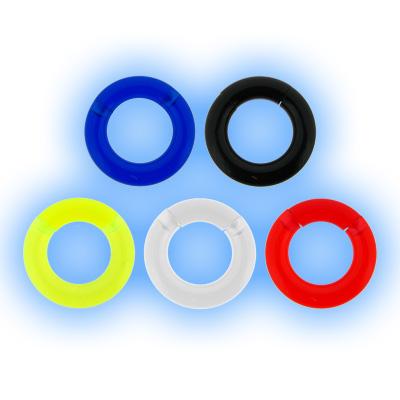 Large Gauge Acrylic Segment Ring