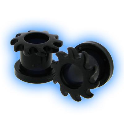 Black Acrylic Screw Tunnel - Sunshine