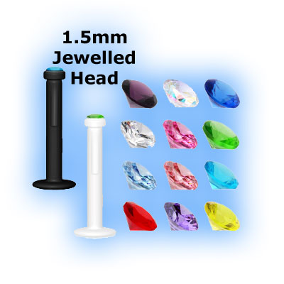 BioFlex Internal Labret - Small Jewel