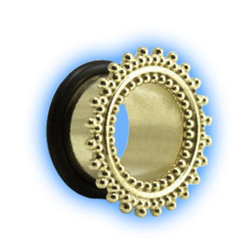 Afghani Brass Flared Eyelet