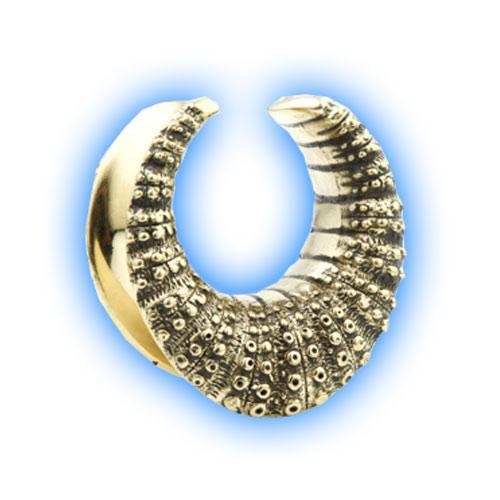 Organic Brass design Saddle Plug