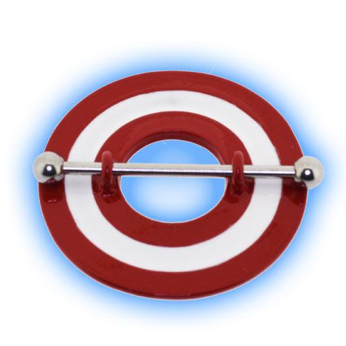 Bullseye Target Nipple Shield