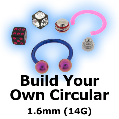 Build Your Own Circular Barbell CBB 1.6mm (14G)