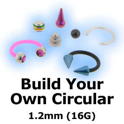 Build Your Own Circular Barbell CBB 1.2mm (16G)