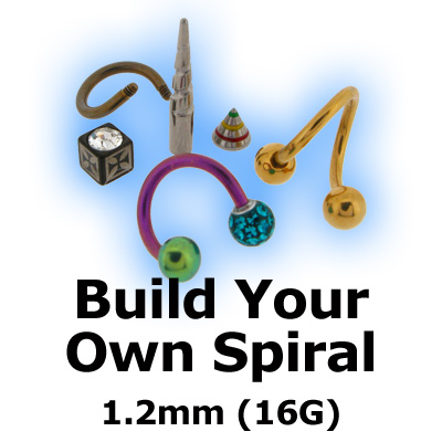 Build Your Own Twister Spiral 1.2mm (16G)