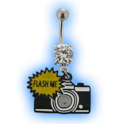 Camera - Flash Me Belly Bar