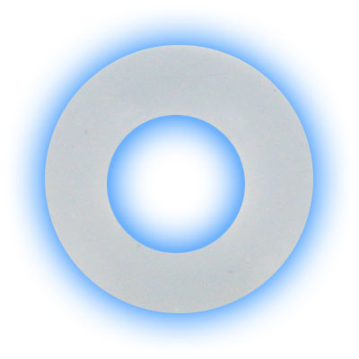 Clear Replacement O Ring for Piercing Retainers