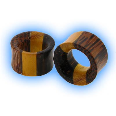 Wooden Flesh Tunnel - Tri Wood