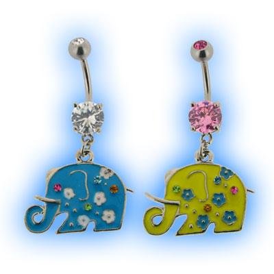 Coloured Elephant Belly Bar