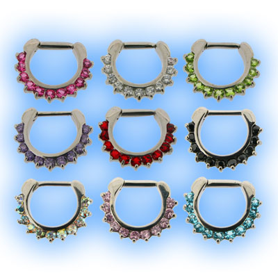 Petal Gem Septum Clicker