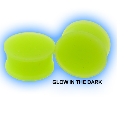 Glow in the Dark Ear Plug Silicone