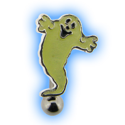 Halloween Reverse Ghost Belly Bar