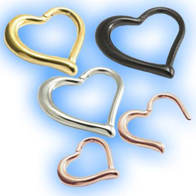 Hinged Heart Ring