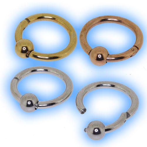 Hinged Segment Ring with Ball