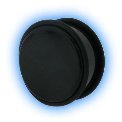 Jumbo Black Acrylic Flesh Plug