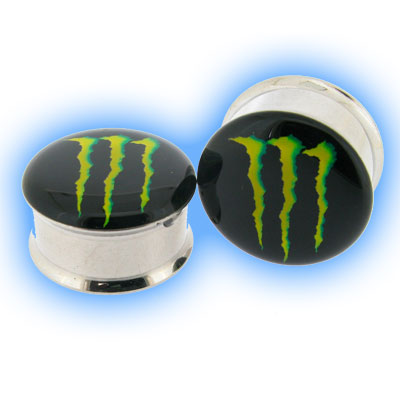 Steel Double Flared Plug Monster