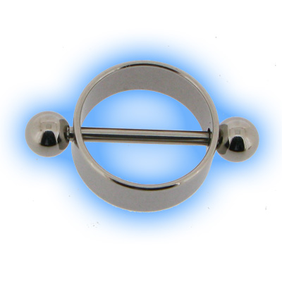 Stainless Steel Nipple Rounder & Barbell
