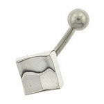 Screwbidoo Screw - Silver Square