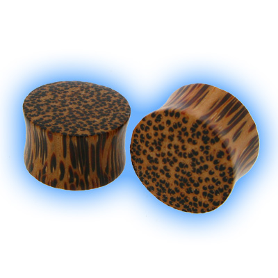 Wooden Flesh Plug - Coconut Wood