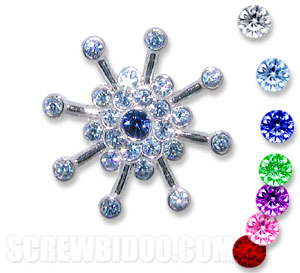Screwbidoo Screw - Snowflake