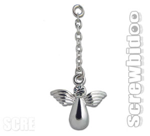 Screwbidoo Angel Dangling Charm